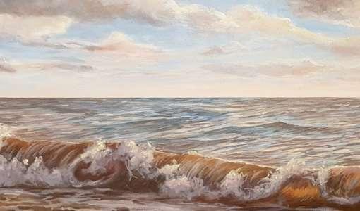 Himmel, Wolken und das Meer