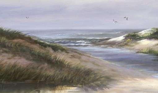 Gegenständliche Landschaftsmalerei an der Staffelei