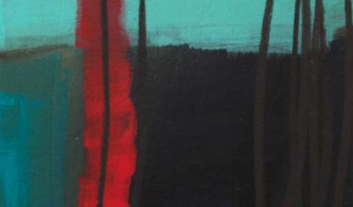Moving Line - Linie und Farbe in der Malerei