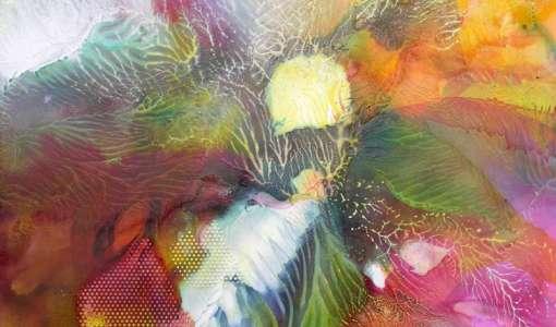 XXL-Aquarell: Farbmelangen der besonderen Art