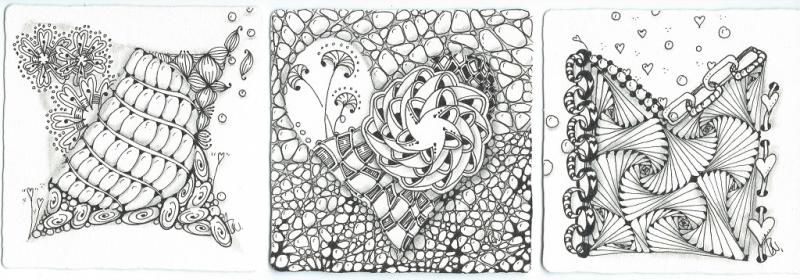Zentangle ® - die meditative Zeichenkunst