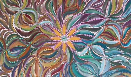 Paint like an Australian Aboriginal artist