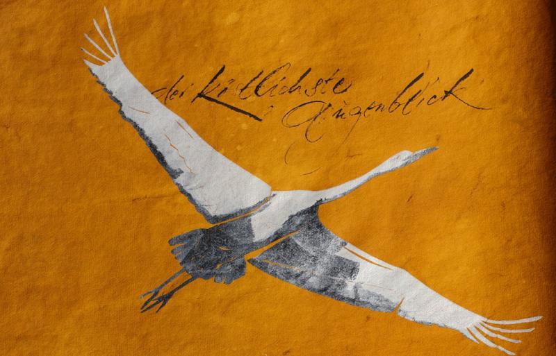 Klassische Kalligrafie und Handschrift