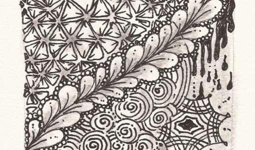 Meditatives Zeichnen: Zentangle® Einsteigerkurs